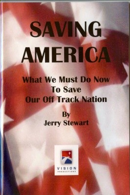 "Jerry Stewart's Book - ""Saving America"""